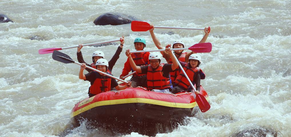 Rafting - Citatih, Sukabumi