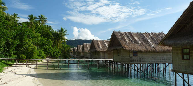 Papua Paradise Eco Resort x