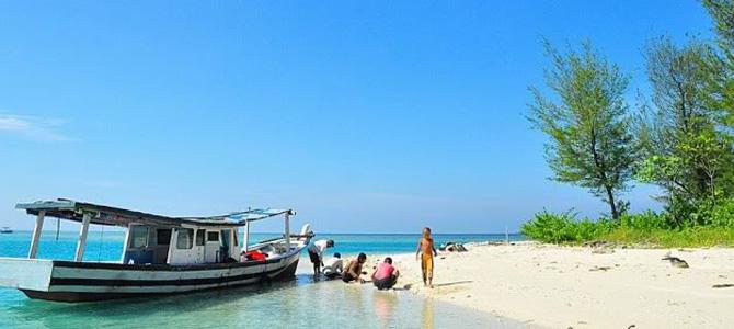 Pantai Pulau Karang Beras