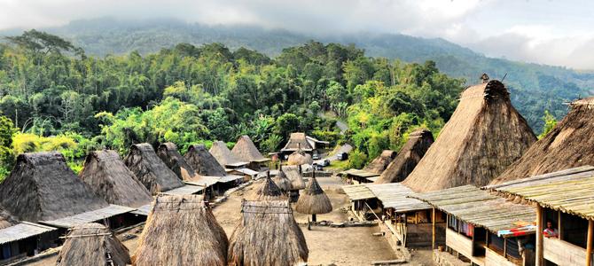 Desa Adat Bena (foto oleh Yully Sebayang)