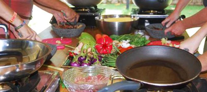 Belajar masak di Anggrek Putih