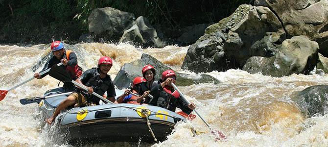 rafting progo x