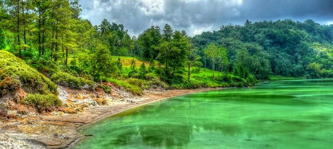 Air danau bisa berubah-ubah warna
