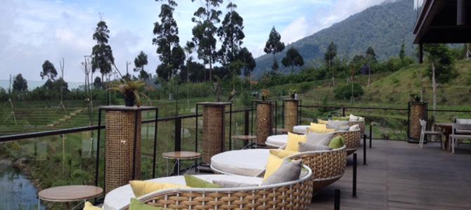 Cafe Burangrang di Dusun Bambu