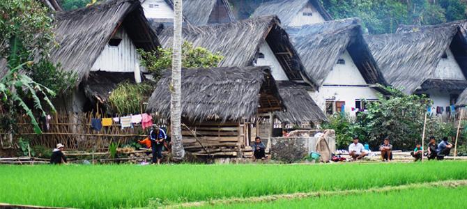 kampung naga tradisional x