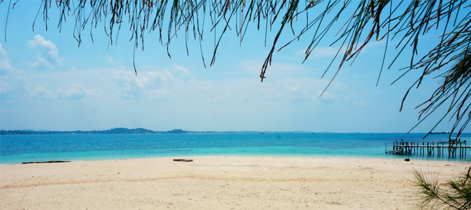 pulau beralas pasir 1x