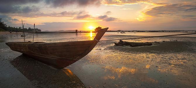 Sunset di Sakera