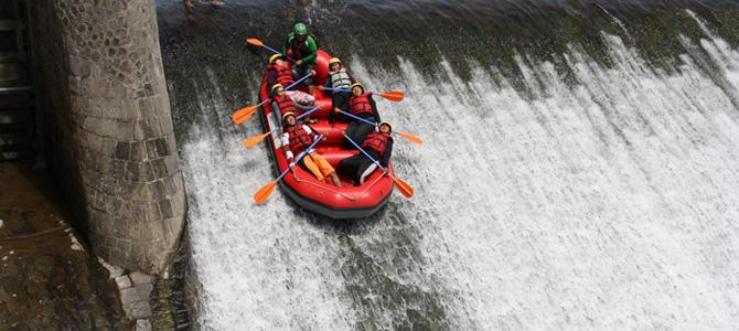 Rafting Sungai Sei Bingei