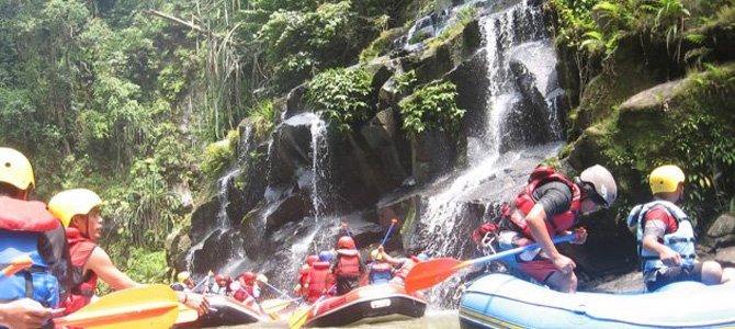 Rafting Sungai Sei Wampu