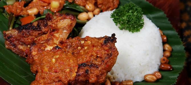 Kuliner halal khas Lombok, Ayam Taliwang