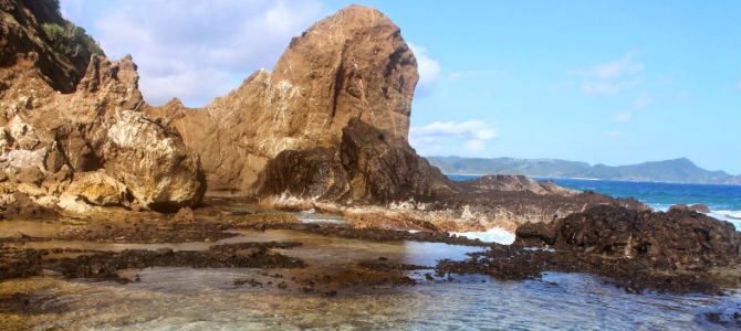 pantai nambung lombok 2x