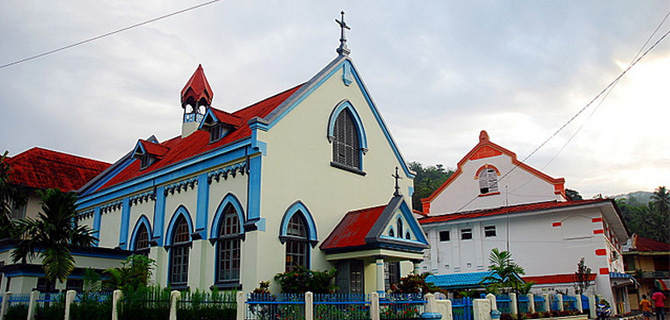 gereja katolik_Sawahlunto