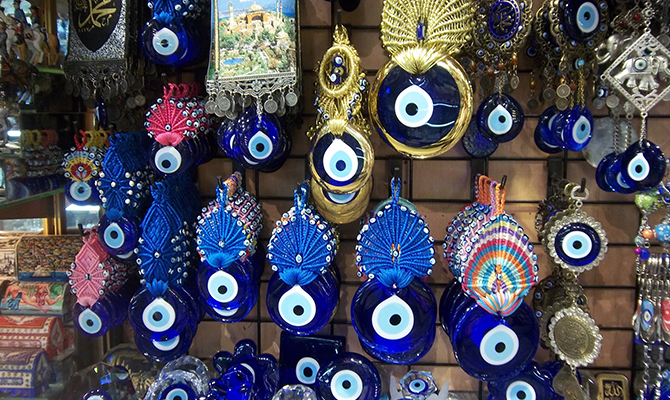 Evil eye (IMG: An Artist Abroad)