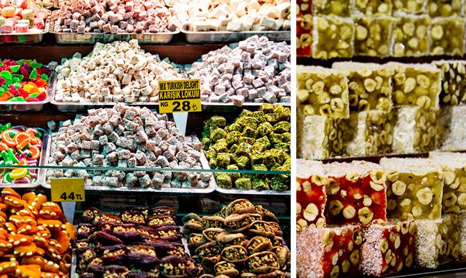 Turkish delight di Grand Bazaar (IMG: wwooflife)