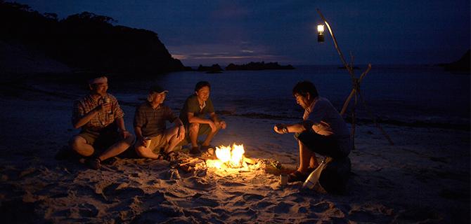 Barbecue dan api unggun di pantai (IMG: Fslocal)