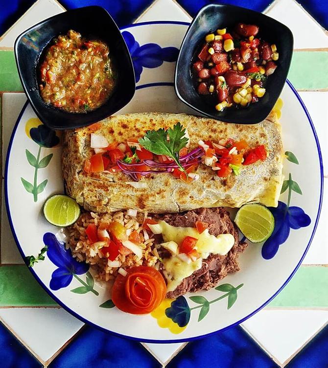 Burrito by tacobeachgrill