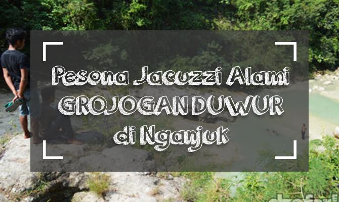 Berendam di Jacuzzi Alami Grojogan Duwur Nganjuk