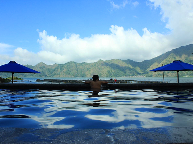 Batur Natural Hot Spring Toya Bungkah via mybalikintamani